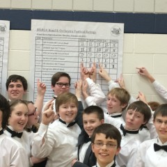 First Division Ratings for Middle School Bands!